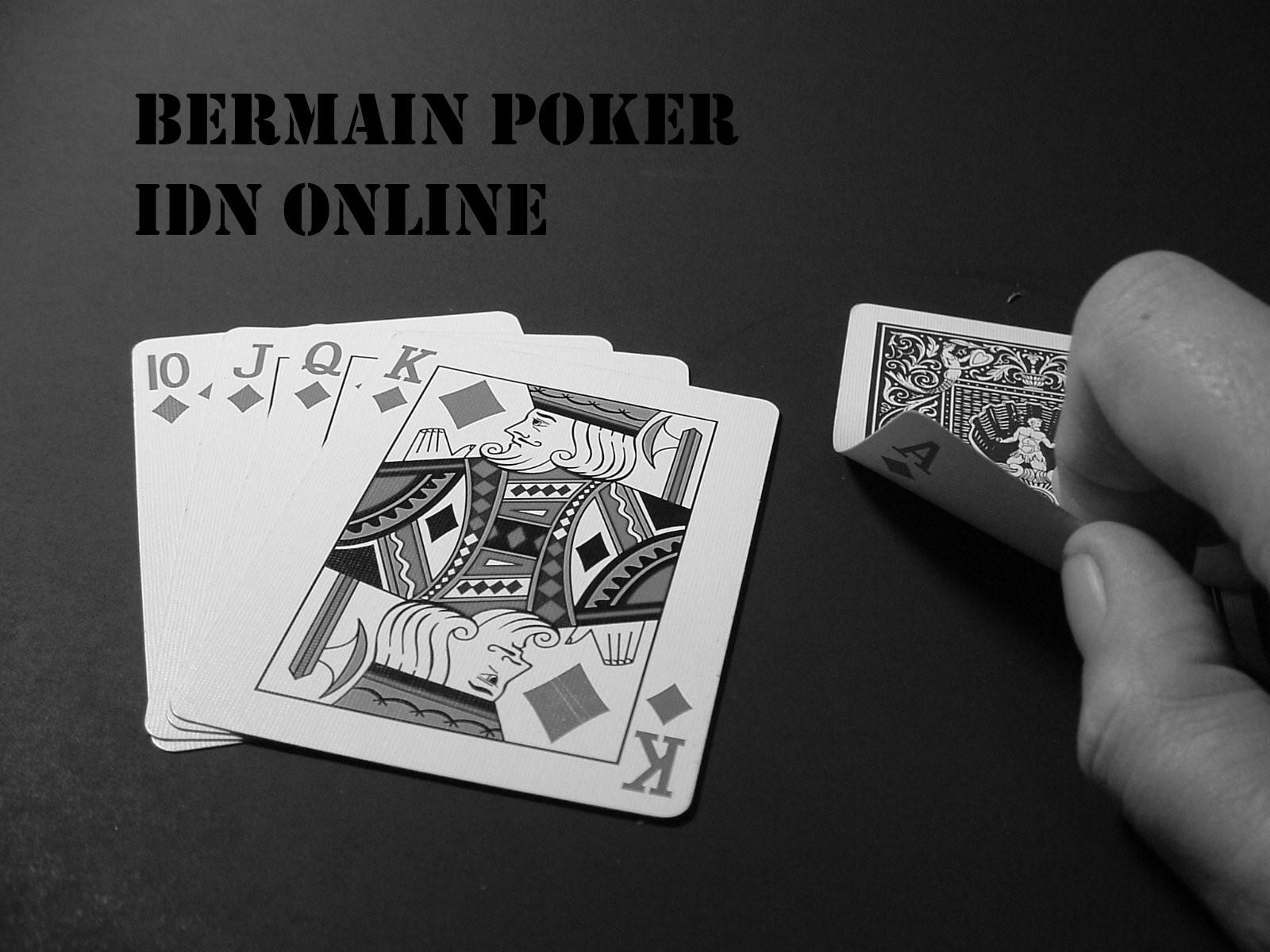 Judi IDN Poker Terbaru
